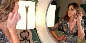 Mar Flores preparándose para ir a la fiesta de Elton John tras los Oscar