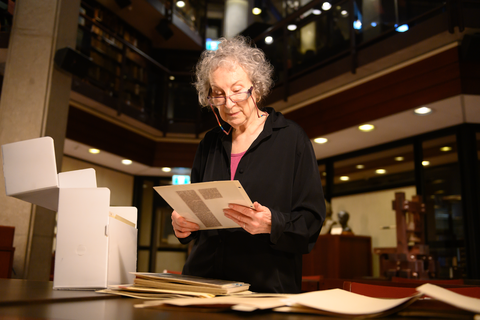 Margaret Atwood launches 'The Testaments: book interview