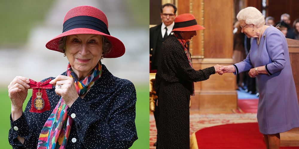 """Queen Elizabeth Makes Margaret Atwood a """"Companion of Honour"""" for Her Services to Literature"""