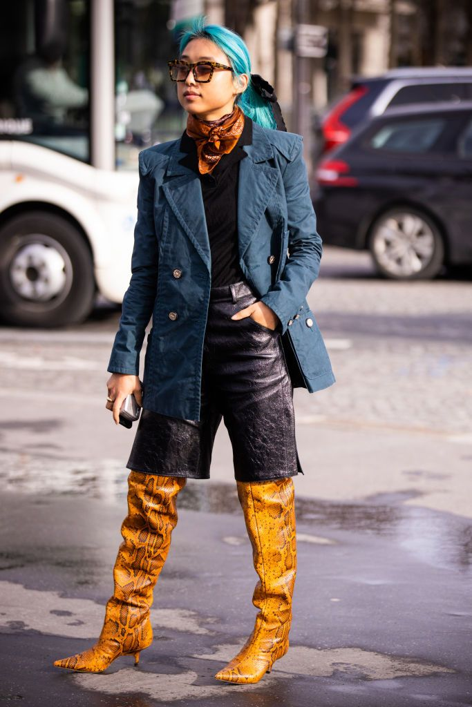 Thigh-High Boots Outfit Ideas for Fall 2020
