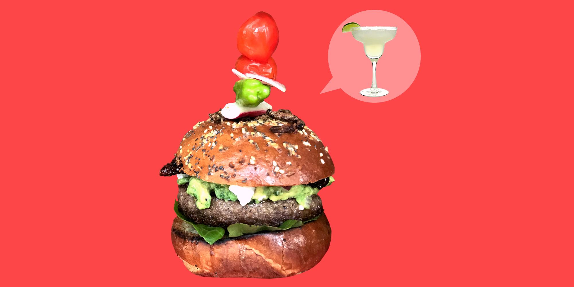 How to Make a Burger That Tastes Like a Margarita Cocktail