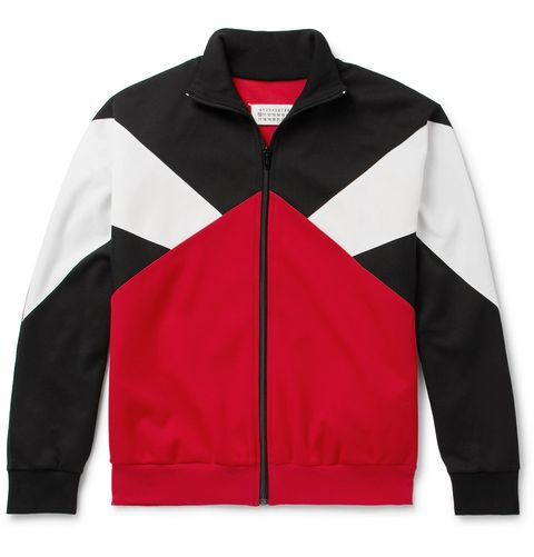Clothing, Jacket, Outerwear, Sleeve, Red, Zipper, Polar fleece, Leather jacket, Textile, Leather,