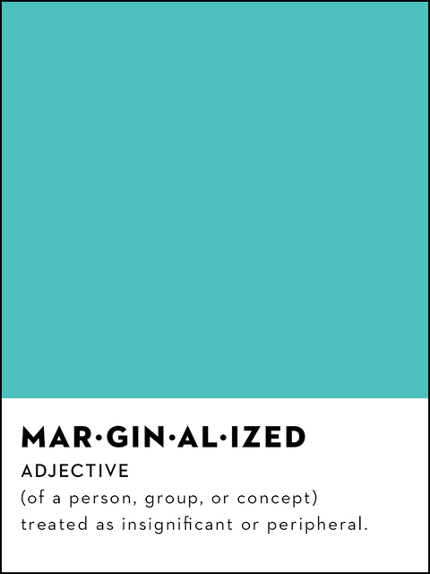 marginalized definition