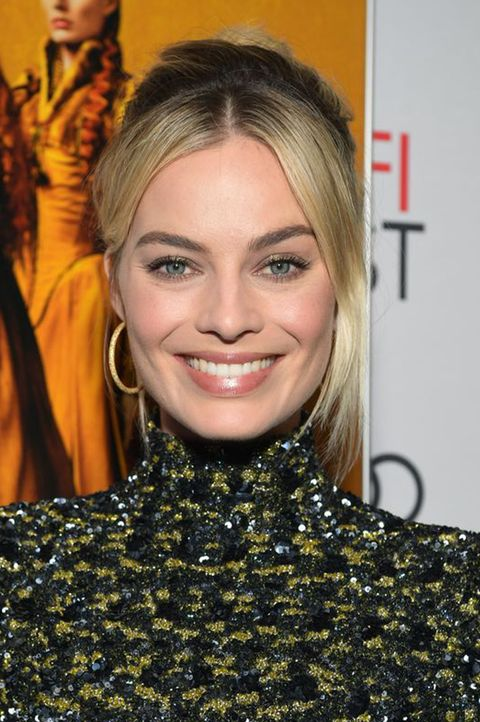 Margot Robbie Hair Closing Night World Premiere Gala Screening Of 'Mary Queen Of Scots'