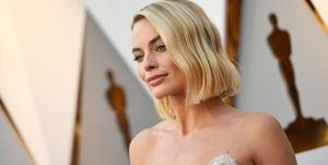 Margot Robbie at the 2018 Oscars