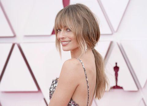 2021奧斯卡最美妝髮瑪格羅比