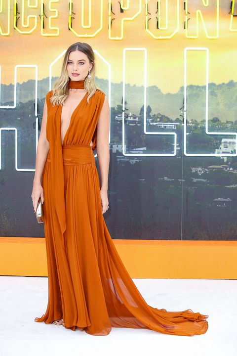 Margot Robbie Once Upon A Time In Hollywood UK Premiere dress