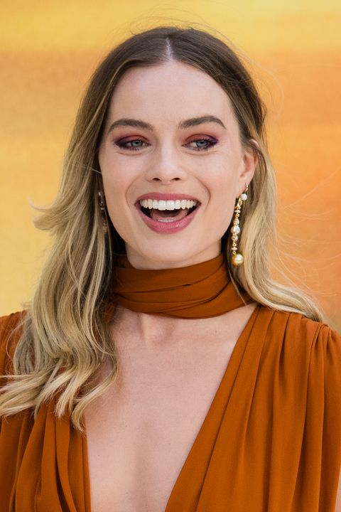 margot robbie   ombre hair