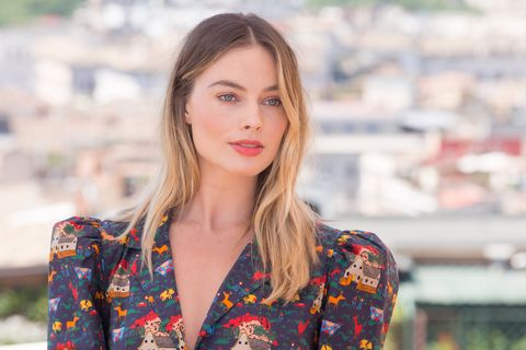 """Margot Robbie during the photocall of film """"Once Upon a Time..."""