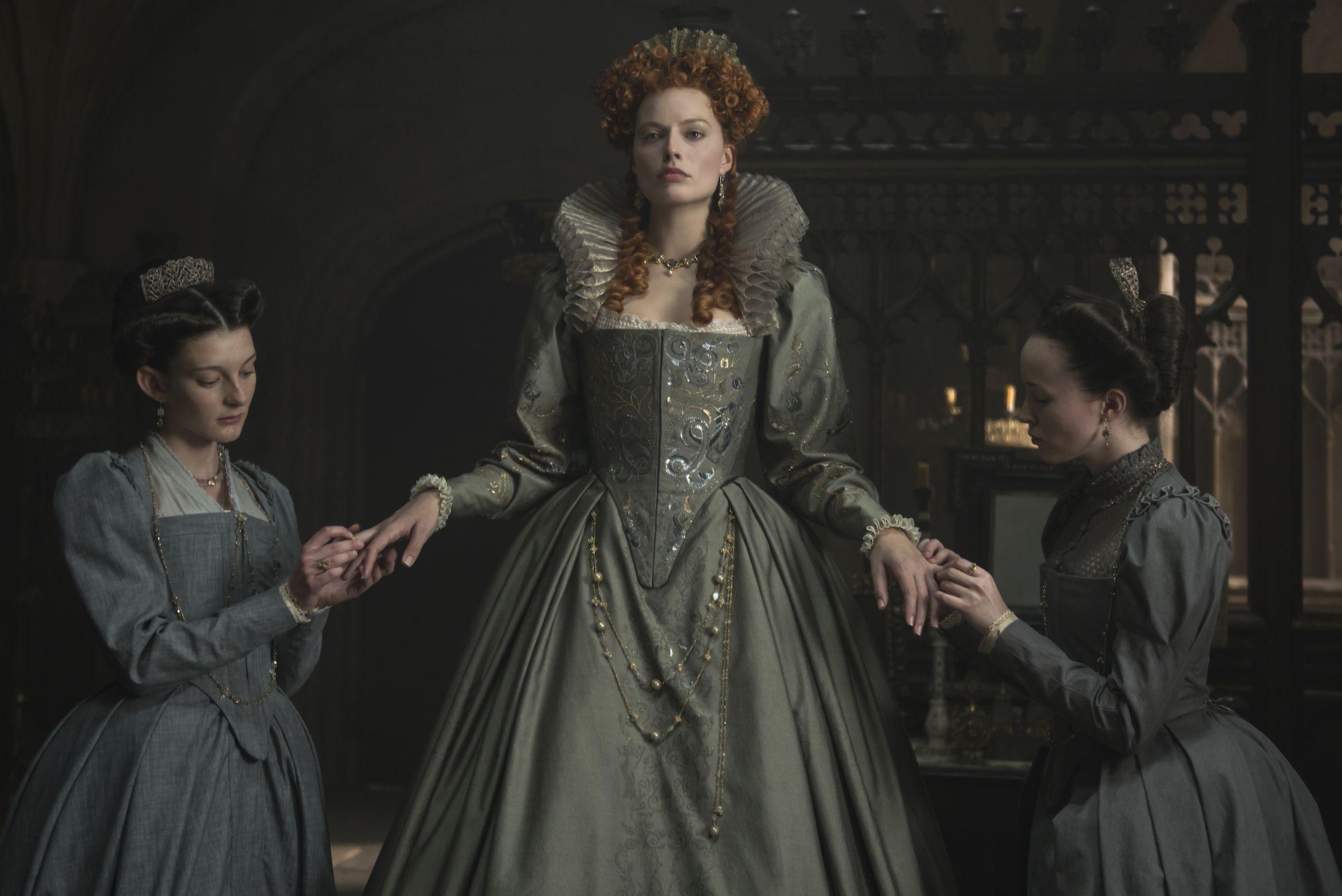 """Margot Robbie in """"Mary Queen of Scots"""""""