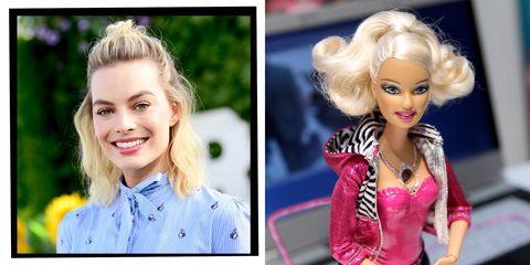 margot robbie and Barbie