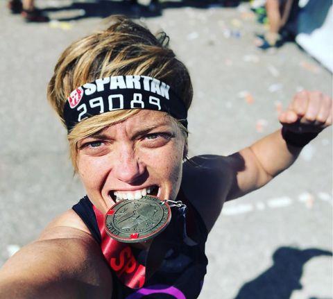 María Casado- Spartan Race