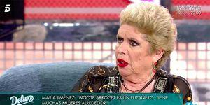 María Jiménez habla de María Teresa Campos
