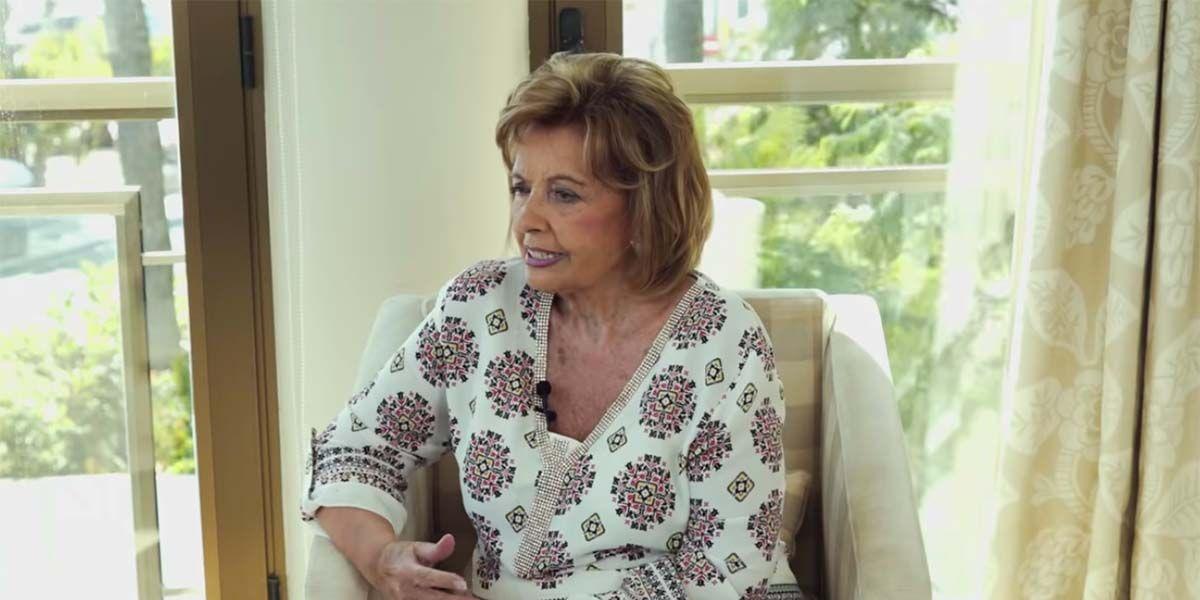 La reacción de María Teresa Campos a la película con Santiago Segura y sus hijas
