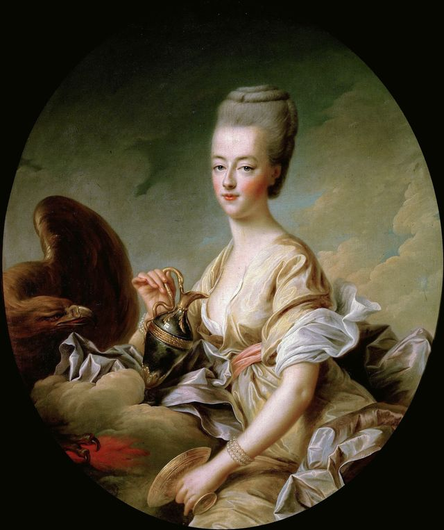 portrait of queen marie antoinette 1755 1793 als hebe, 1773 found in the collection of musée condé, chantilly photo by fine art imagesheritage imagesgetty images