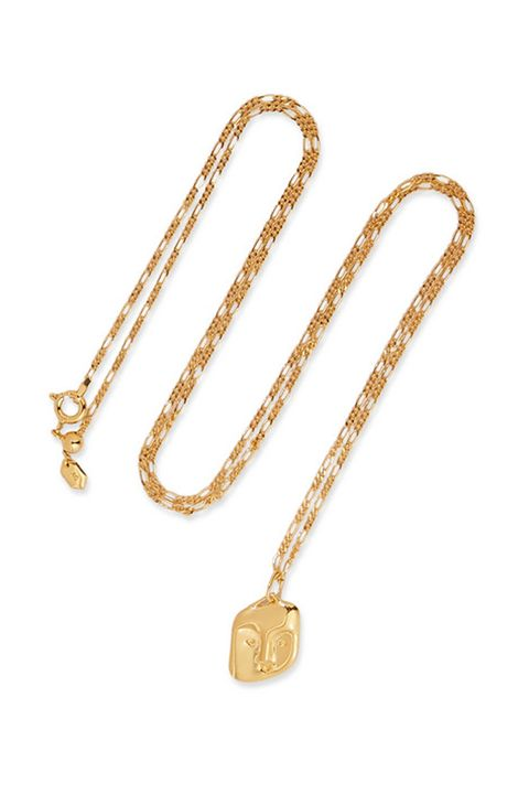 MARIA BLACKFriend gold-plated necklace£165
