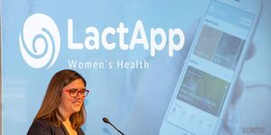 María Berruezo, cofundadora de LactApp