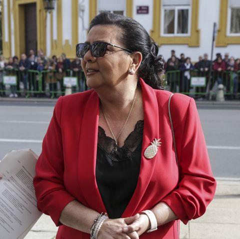 María del Monte teléfono Sálvame para defender a su sobrino, Antonio Tejado