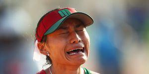 La subcampeona olímpica de marcha mexicana Guadalupe González