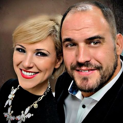 María Jesús Ruiz con Curro