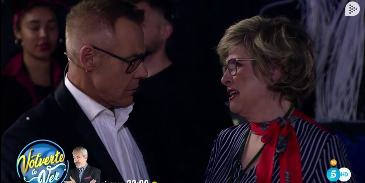 Juani Garzón, madre de María Jesús Ruiz, abandona el plató rota de dolor