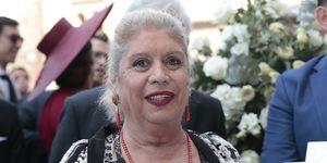 María Jiménez, María Jiménez salud, María Jiménez hospital, María Jiménez recuperada, María Jiménez primera imagen