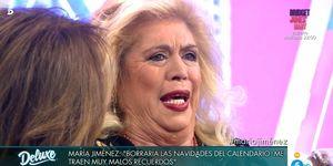 María Jiménez,María Jiménez Deluxe,María Jiménez Sálvame,María Jiménez Sábado Deluxe