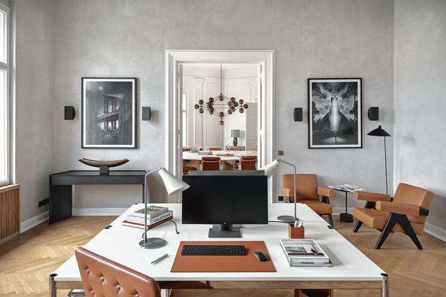 el interior de la oficina diseñada pormaria murawsky en berlín