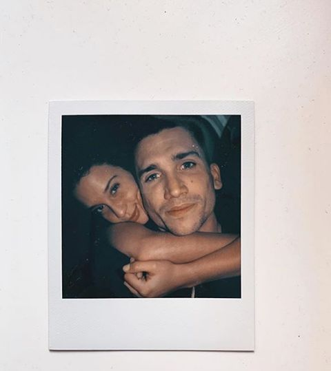 Face, Photograph, Head, Picture frame, Snapshot, Art, Room, Smile, Photography, Portrait,