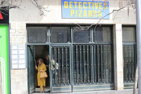María Teresa Campos visita a un detective privado