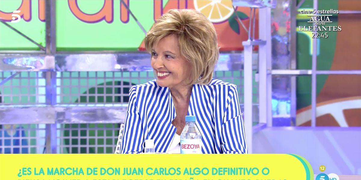 'Sálvame' recupera a María Teresa Campos para hablar de Juan Carlos I