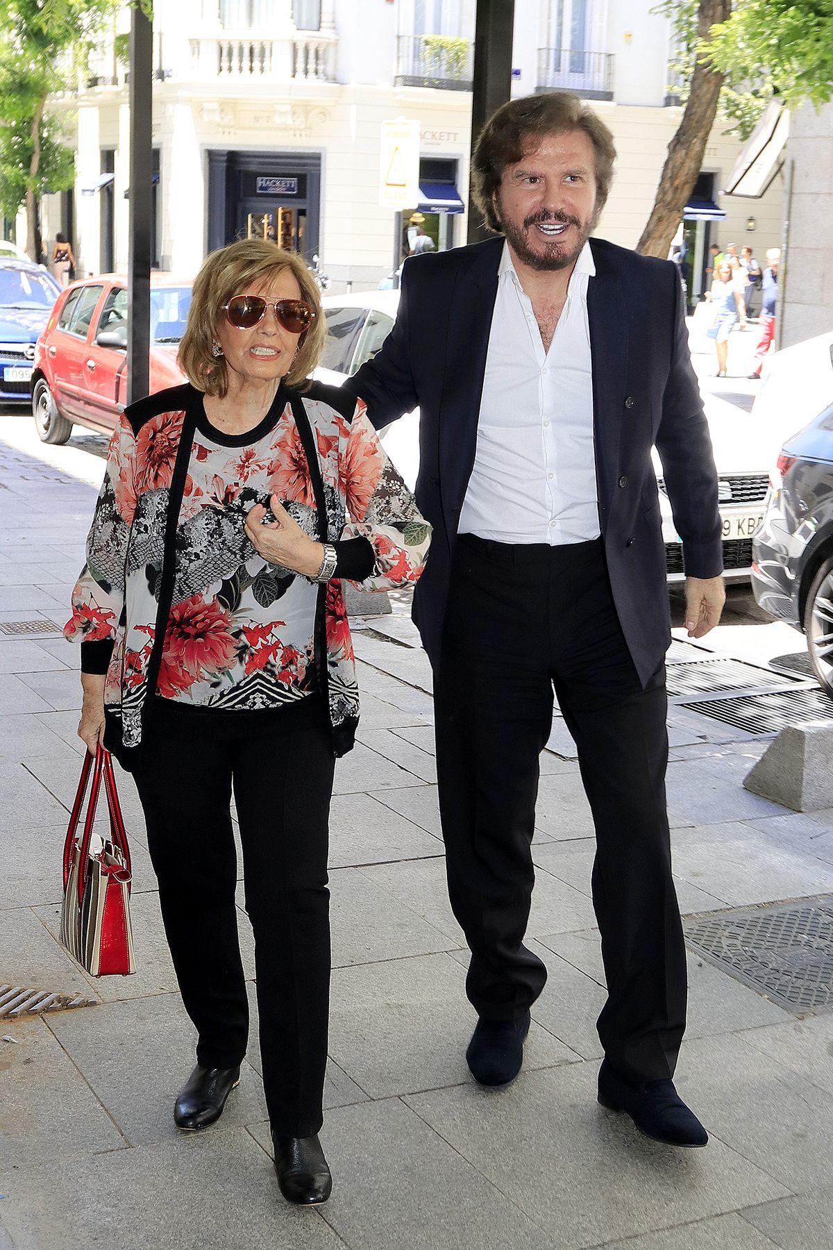 Maria Teresa Campos desmiente los rumores de crisis con Edmundo Arrocet
