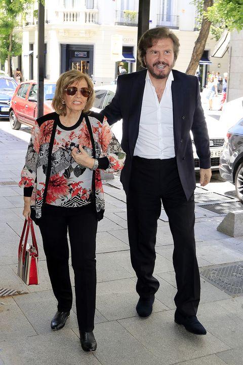 María Teresa Campos y Edmundo Arrocet