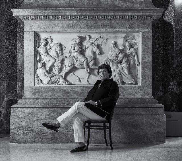 Maria Cristina Rodeschini, direttrice dell'dell'Accademia di Carrara di Bergamo