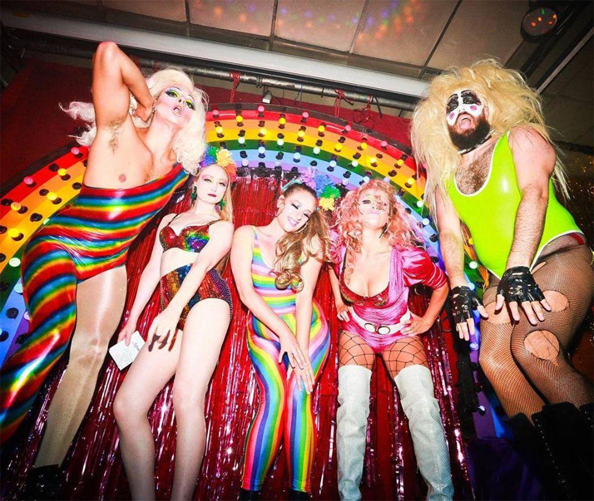 Mariah and Friendz: Screamlover, drag act , halloween