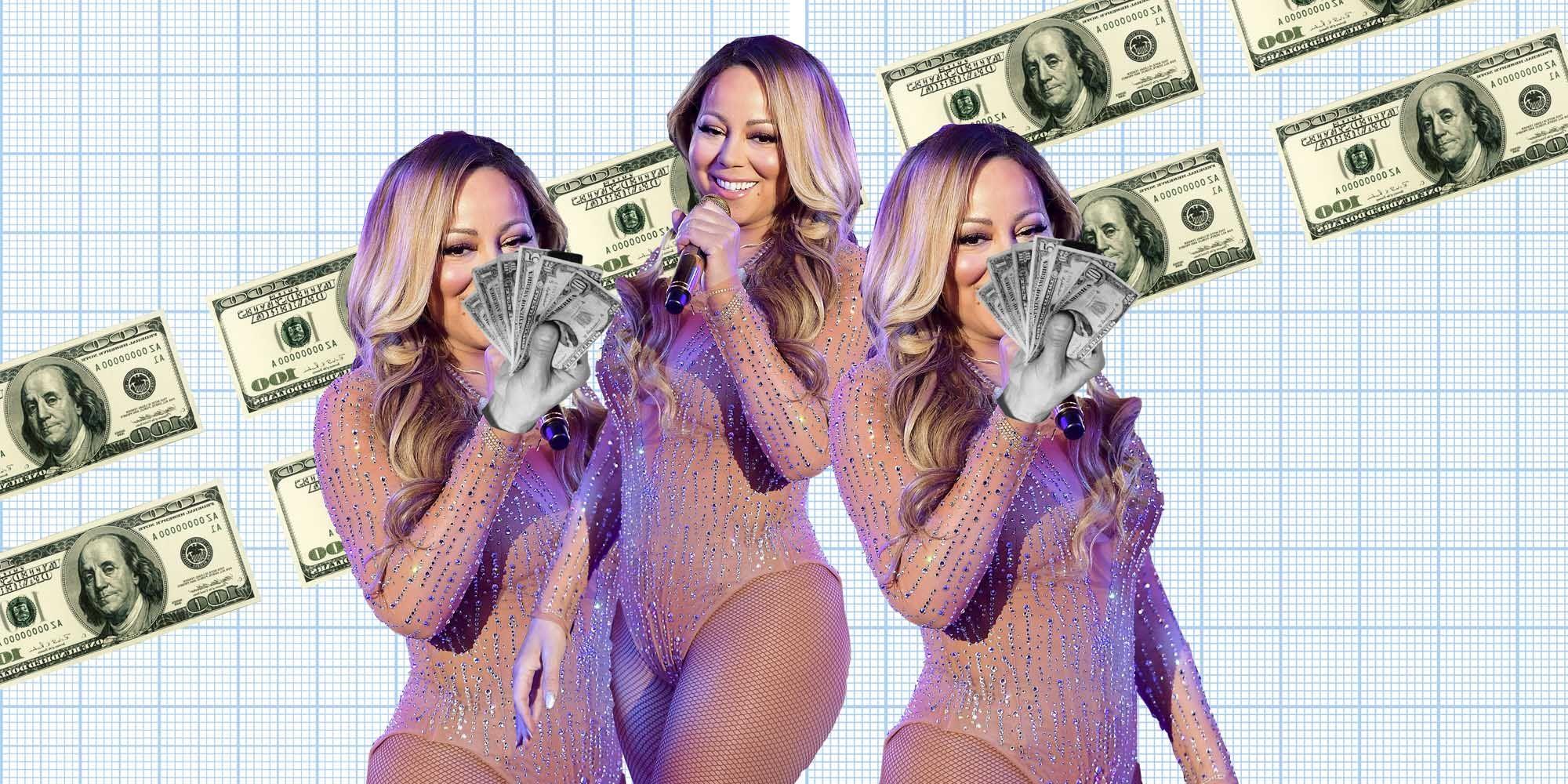MariahCarey, geld