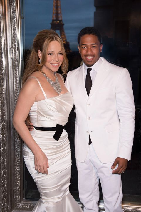 france   mariah carey and nick cannon celebrate their fourth year of marriage in paris