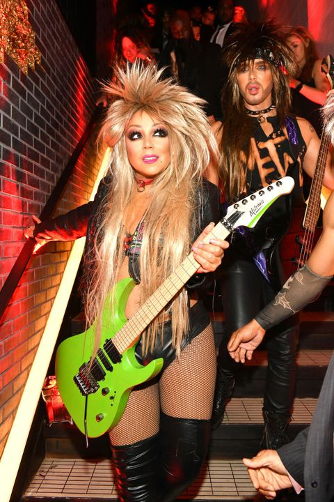 heidi klum's 20th annual halloween party presented by amazon prime video and svedka vodka at cathédrale new york
