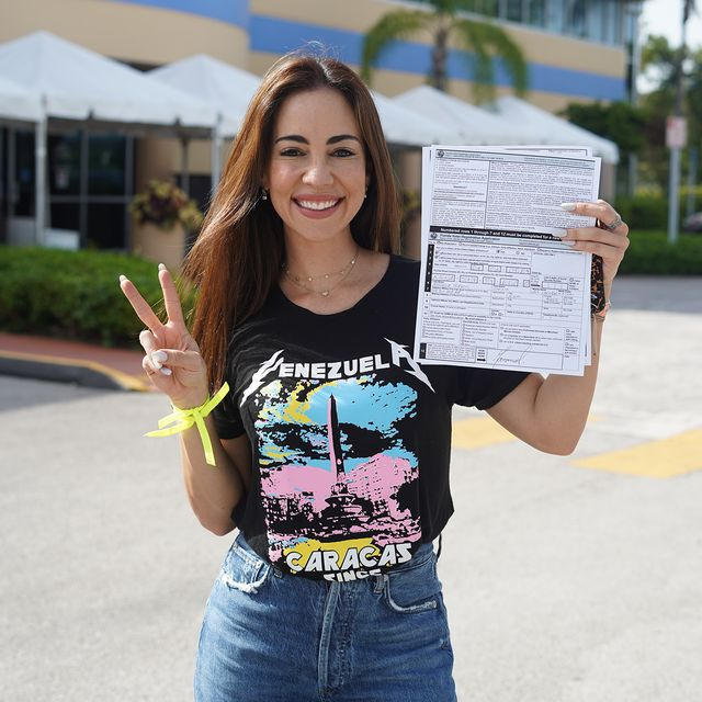 mariana atencio registering to vote