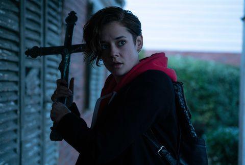 Protagonista de 'Marianne', serie de terror de Netflix.