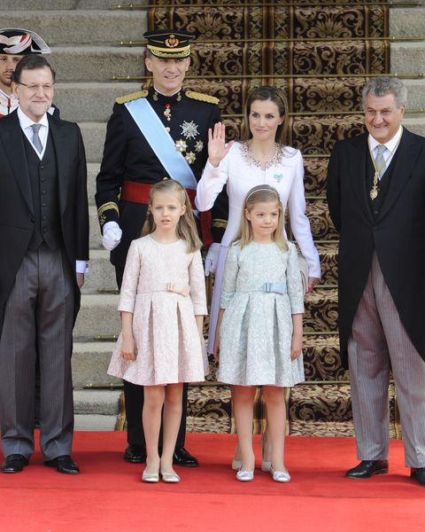 Coronation of King Felipe VI of Spain at Spanish Parliament