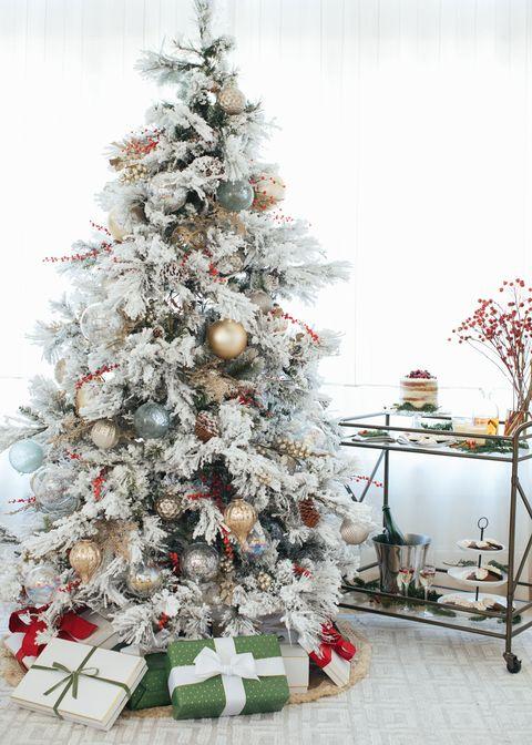 Christmas tree, Christmas decoration, Colorado spruce, Tree, White, Christmas ornament, Christmas, oregon pine, Spruce, Branch,