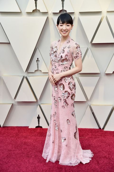 d27f137ed8f31 Oscars 2019 s Biggest Red Carpet Trend Was Pink Dresses