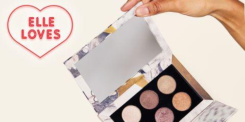 Eye shadow, Eye, Cosmetics, Beauty, Organ, Brown, Human body, Material property, Face powder, Pattern,