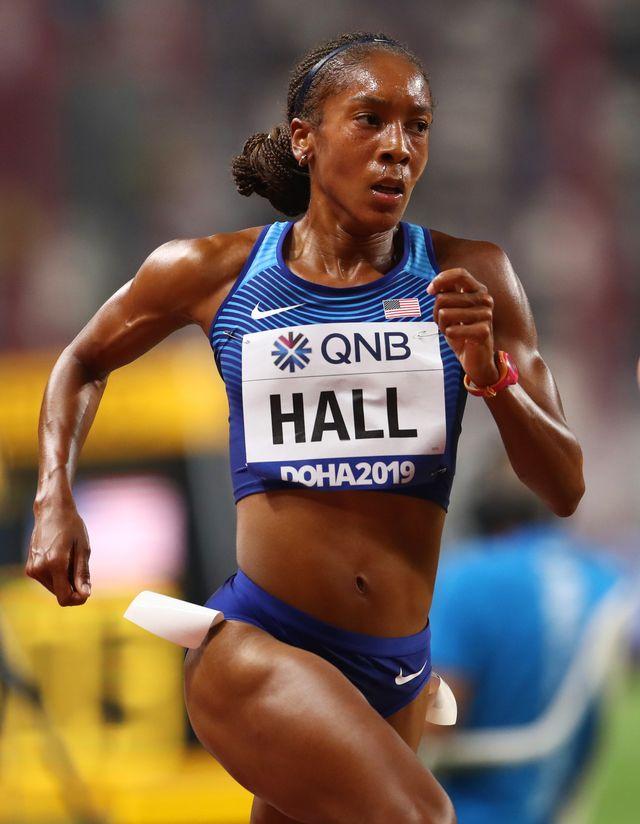 runners diet, marielle hall