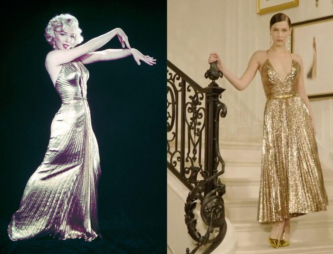 Marilyn Monroe Bella Hadid