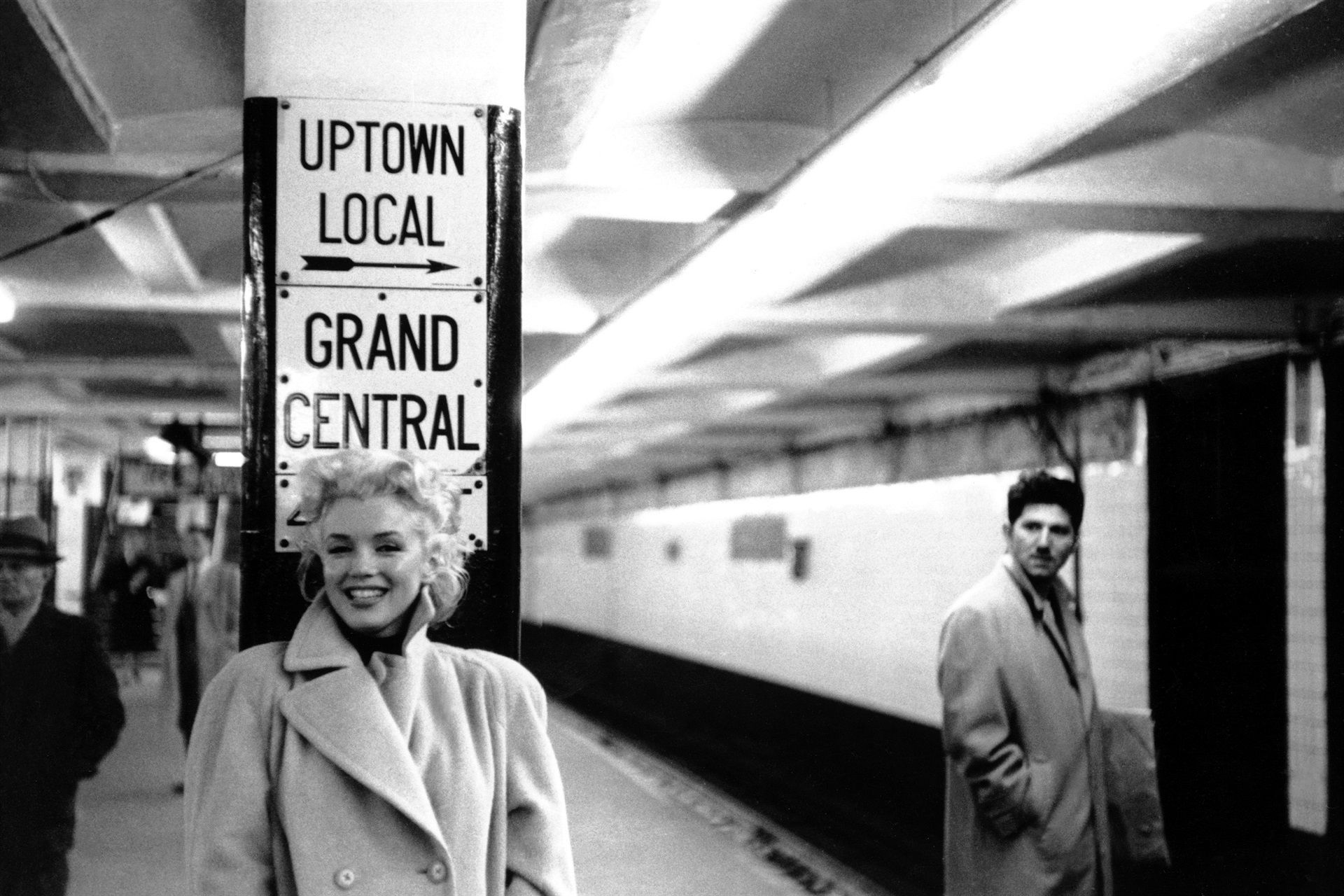 Vintage Celebrities at Grand Central - Celebrities at Grand