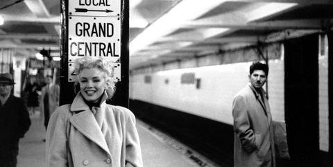 Photograph, Transport, Black-and-white, Snapshot, Standing, Monochrome, Metro station, Metro, Train station, Photography,