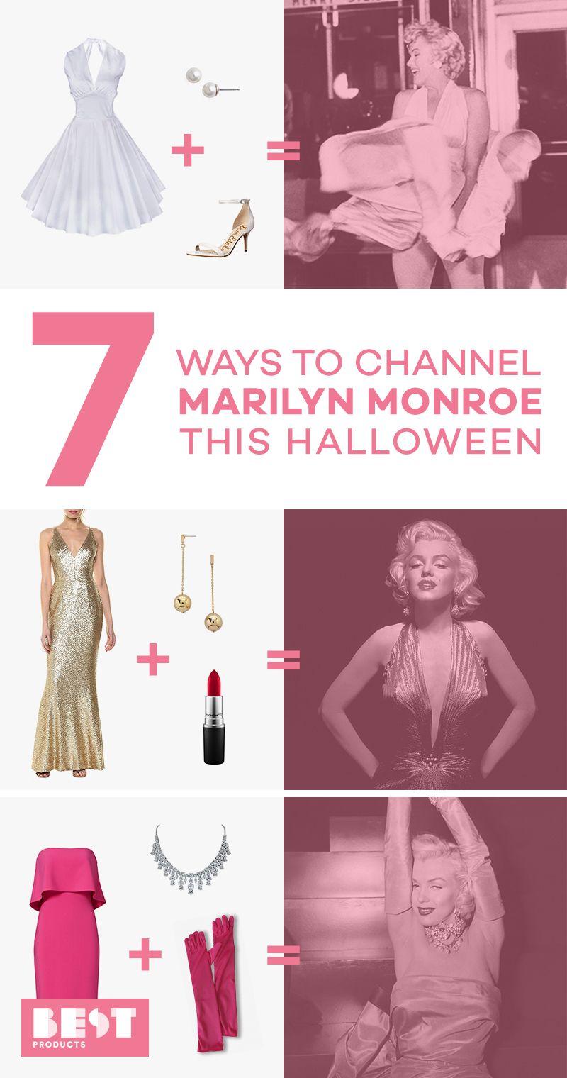 marilyn monroe halloween costumes best 2018  sc 1 st  BestProducts.com & 7 Best Marilyn Monroe Costumes for 2018 - DIY Marilyn Monroe ...