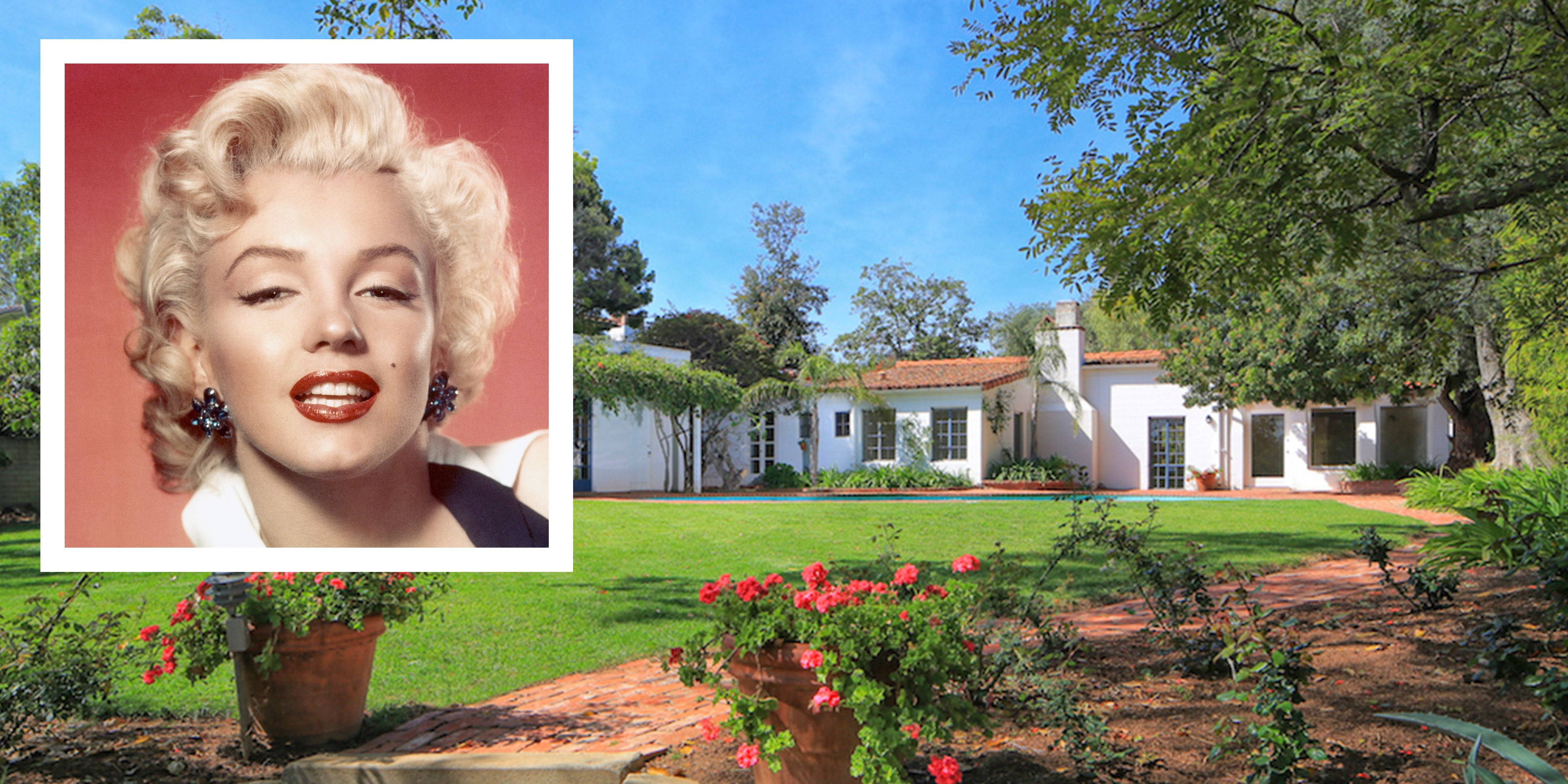 Marilyn Monroe House Address Marilyn Monroe's Brentwood Home For Sale  Marilyn Monroe
